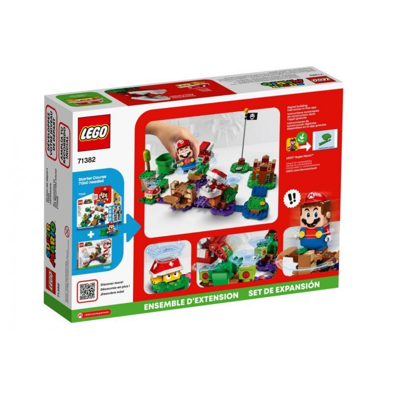 LEGO Super Mario Zawikłane zadanie Piranha Plant 71382 LEGO - 1