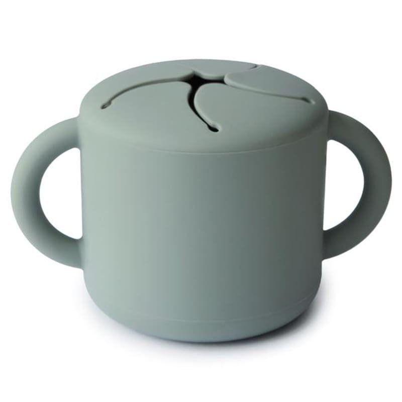 Mushie Kubek niewysypek na przekąski SNACK CUP Cambridge Blue Mushie - 1
