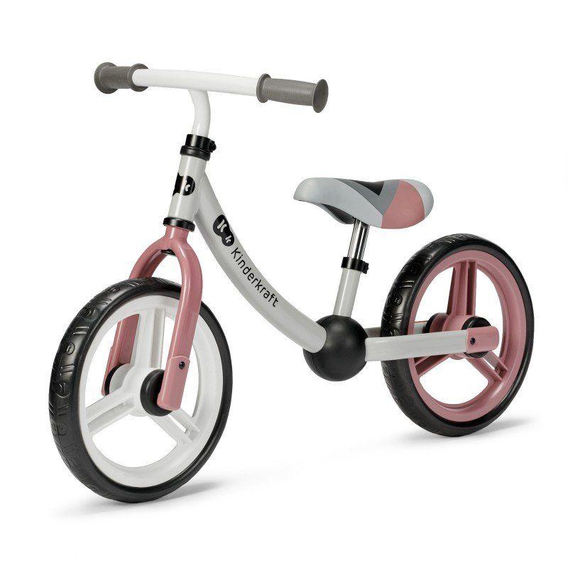 KINDERKRAFT Rowerek biegowy 2WAY NEXT Rose Pink Kinderkraft - 1
