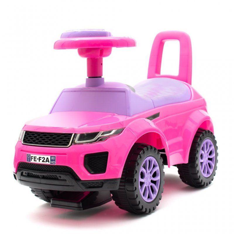 BABY MIX Jeździk SUV różowy BABY MIX - 1