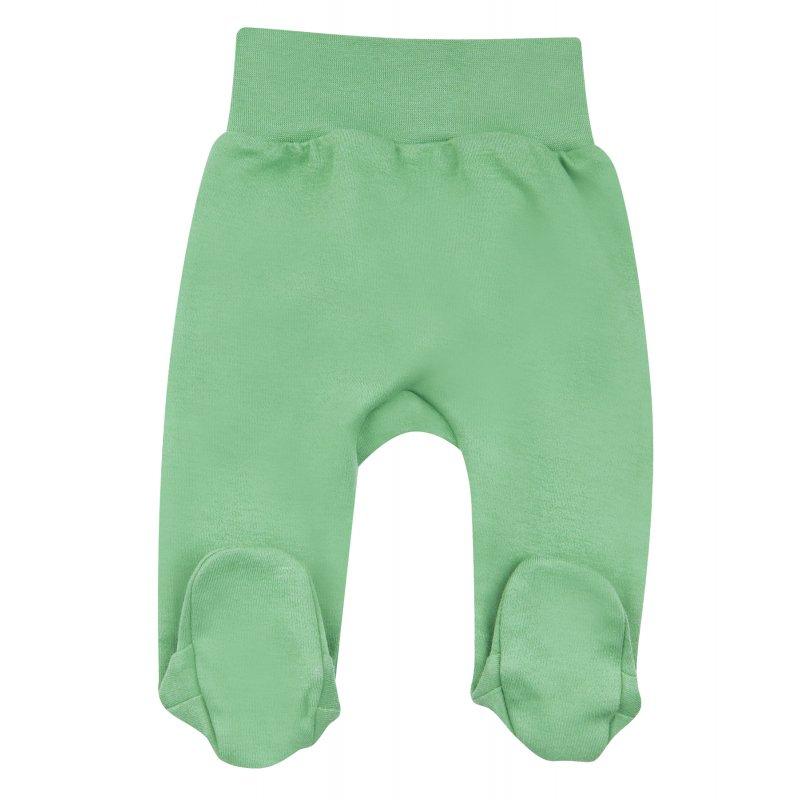 NINI Zielone półśpiochy dla chłopca z bawełny organicznej NINI - 1