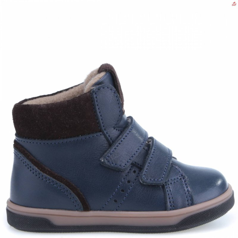 EMEL Granatowe buty przejściowe z membraną EY2729A-4 Emel - 1