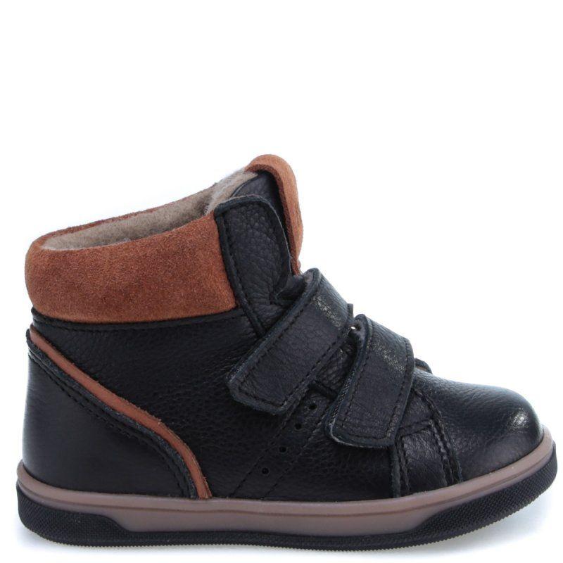 EMEL Czarne buty przejściowe z membraną EY2729A-2 Emel - 1