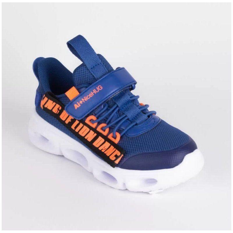 ABC Kids sneakersy chłopięce blue B012302038 ABC Kids - 1